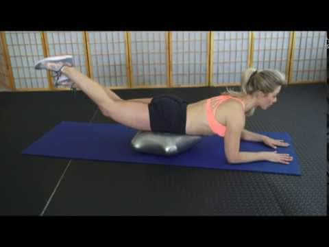 Alternating Rear Leg Lifts